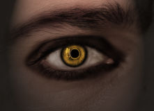 Occhio del diavolo Fotografia Stock