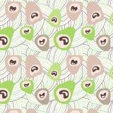 Occhio del pavone Immagini Stock
