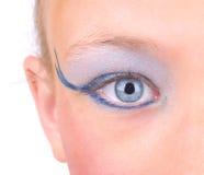 Occhio del primo piano Fotografie Stock