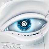 Occhio del robot Fotografie Stock