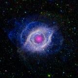 Occhio del ` s di Dio nello spazio Fotografia Stock
