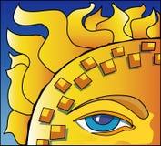Occhio del Sun illustrazione di stock
