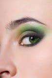 occhio della donna Fotografia Stock