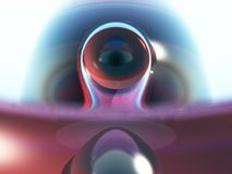 Occhio della mia mente Fotografia Stock