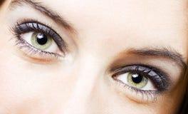 Occhio della ragazza Fotografia Stock