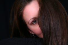 Occhio dello spettatore Fotografia Stock
