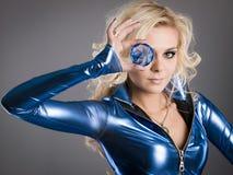 Occhio di cristallo Fotografie Stock