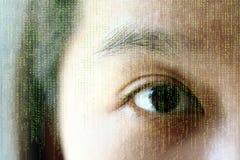 Occhio di Digitahi Fotografie Stock