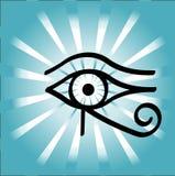 Occhio di Horus Immagine Stock