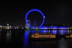 Occhio di Londra alla notte Immagine Stock