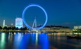 Occhio di Londra alla notte Immagini Stock
