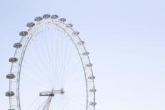 Occhio di Londra della coca-cola con i chiari cieli del bue Fotografia Stock