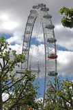 Occhio di Londra il 6 giugno 2011 nella L Fotografia Stock Libera da Diritti