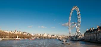 Occhio di Londra un chiaro giorno Fotografie Stock