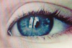 Occhio di sicurezza Fotografia Stock Libera da Diritti
