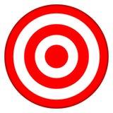 Occhio di tori del Bullseye dell'obiettivo Fotografia Stock
