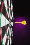 Occhio di tori del Dartboard. immagini stock