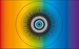 Occhio divino illustrazione vettoriale