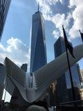 Occhio ed un mondo New York concentrare Immagine Stock