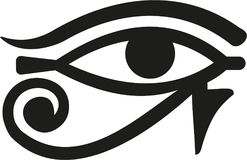 Occhio egitto di Horus royalty illustrazione gratis