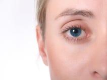 Occhio femminile Fotografie Stock