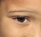 Occhio giovanile Fotografia Stock