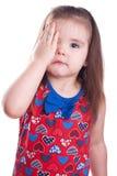 Occhio irritato Fotografia Stock Libera da Diritti