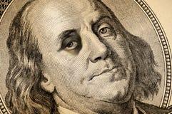 Occhio nero del dollaro Fotografie Stock