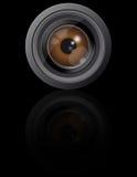 Occhio in obiettivo di macchina fotografica Immagini Stock Libere da Diritti