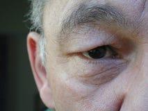 Occhio orientale Fotografia Stock Libera da Diritti