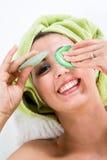 Occhio-Rilievi di sollevamento immagine stock