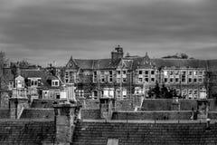 Occhio sui tetti Fotografia Stock