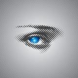 Occhio umano Fotografie Stock Libere da Diritti