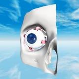 Occhio umano illustrazione vettoriale