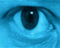 Occhio umano Fotografia Stock Libera da Diritti