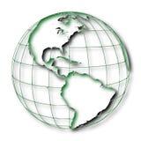 Occident ziemia: Ameryka royalty ilustracja