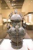 Occidental de bronce (buque del vino) Imagen de archivo