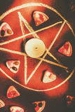 Occult horror ritual Stock Photography