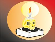 Occult mysterious teachings and cults royalty free illustration