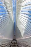 Occulus world trade center stacji Manhattan punkty zwrotni Nowy Y obraz royalty free