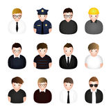 Occupation avatar. Vector illustration Stock Photography