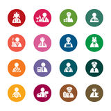 Occupation color Icons Royalty Free Stock Photo