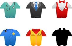Occupation costumes Royalty Free Stock Photo