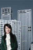 Occupation female in China. Stock Photos