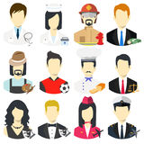 Occupation icon. Vector; illustration; People icon; professions icons; worker set; ; Occupation set Stock Photo