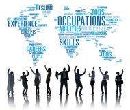 Occupation Job Careers Expertise Human Resources Concept.  Stock Image