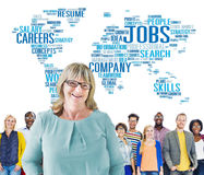 Occupation Job Careers Expertise Human Resources Concept Stock Photography