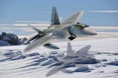 Occupation militaire de l'océan arctique : photo stock