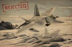 Occupation militaire de l'océan arctique photo stock