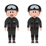 Occupation, police Royalty Free Stock Images